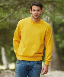 La couleur tendance au printemps 2018 ? Le jaune. Ce sweatshirt publicitaire donnerie énergie, soleil et bonne humeur à vos collaborateurs et clients.